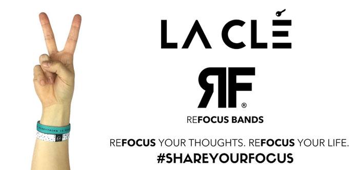 New REFOCUS Bands from La Clé
