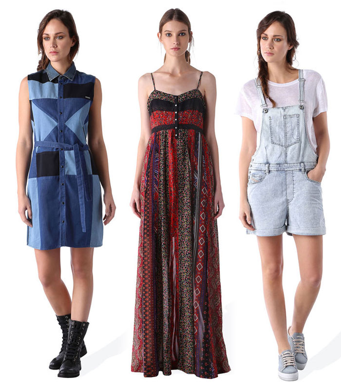 New Summer Releases from Diesel - Dresses and Overall