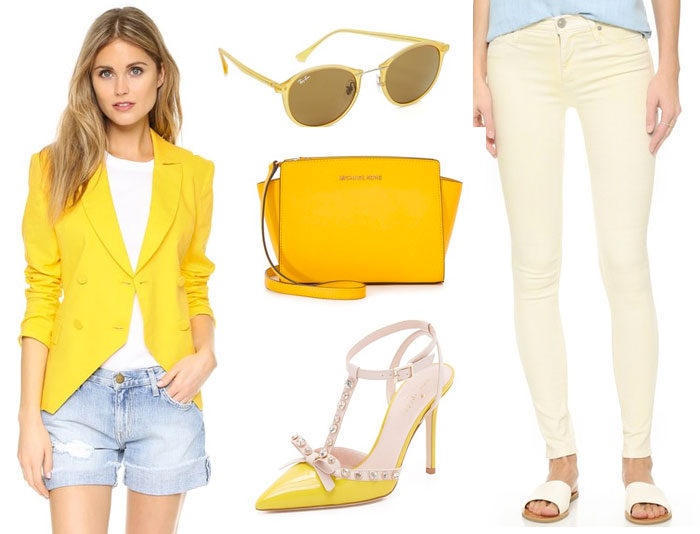 Shop Your Favorite Primary Colors at Shopbop - Yellow