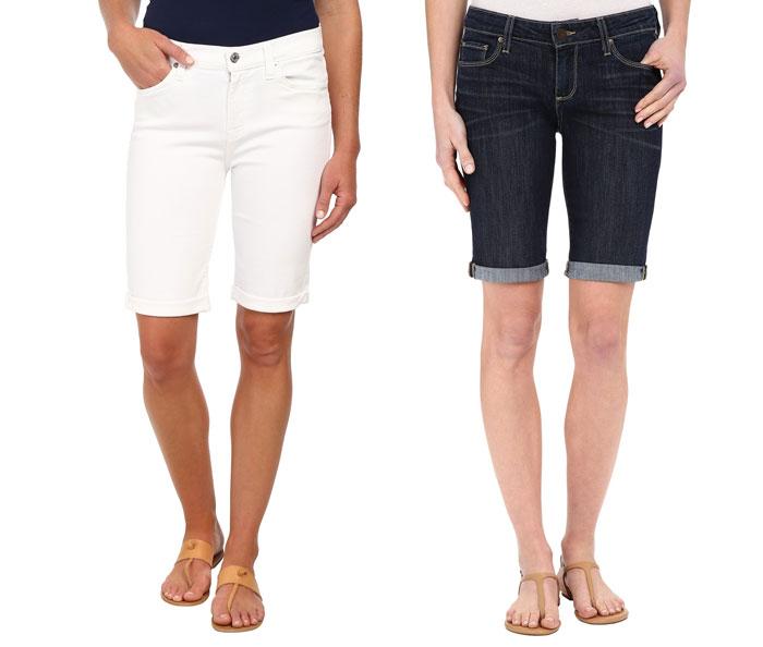 The Modest Denim Bermuda Short