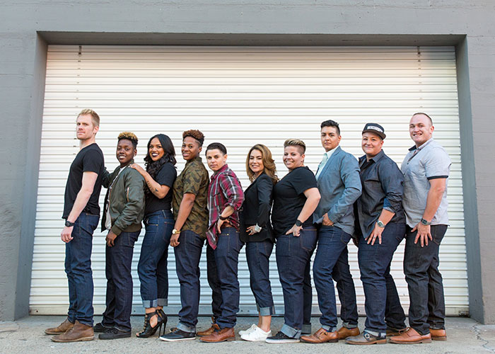 Androgenous Denim by Dapper Boi Crowdsourcing - Group Shot