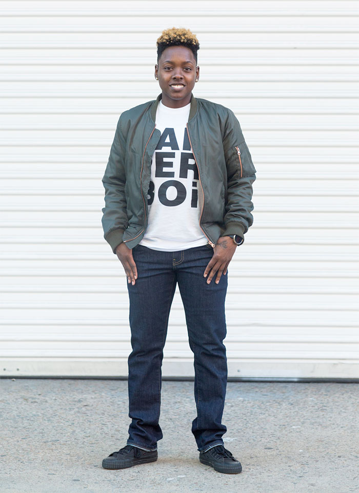 Androgenous Denim by Dapper Boi Crowdsourcing - Model