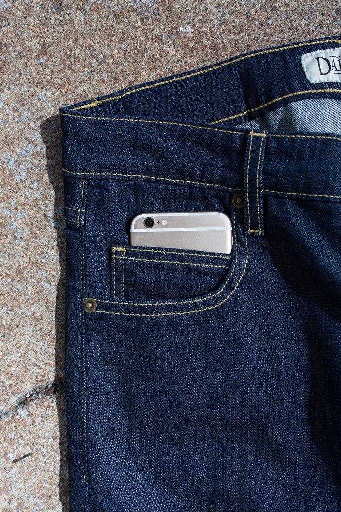 Androgenous Denim by Dapper Boi Crowdsourcing - Cellphone Pocket