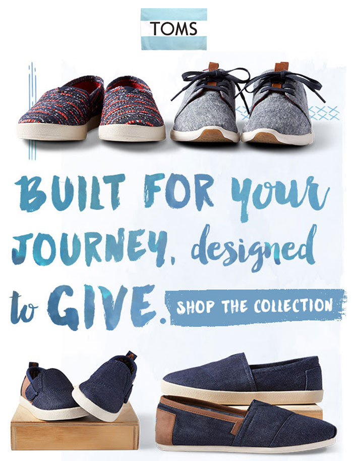Denim Shoes for Everyone at TOMS