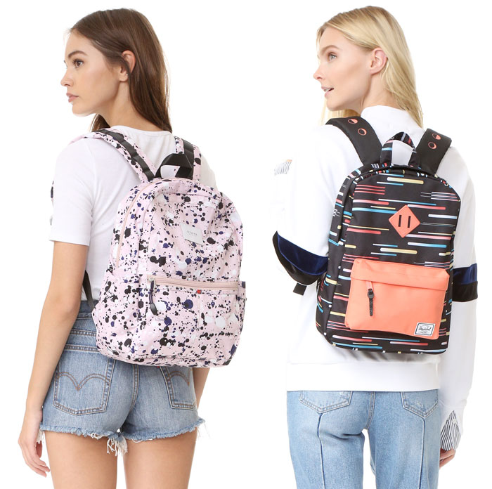 Backpacks are Back at Shopbop - STATE and Herschel