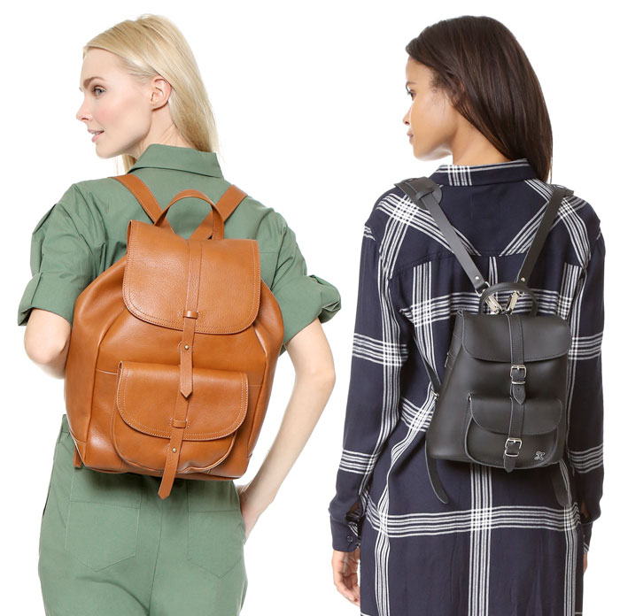 Backpacks are Back at Shopbop - Madewell and Grafia