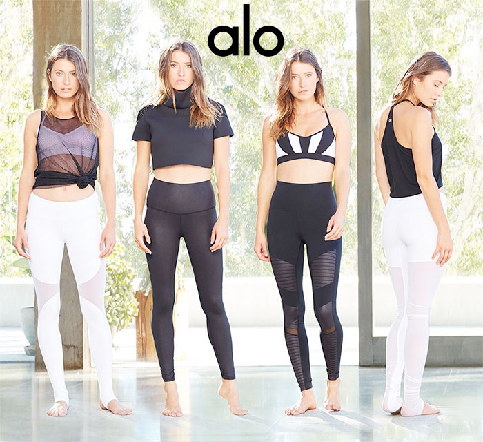 Eco Friendly and Modern Yoga Apparel by ALO