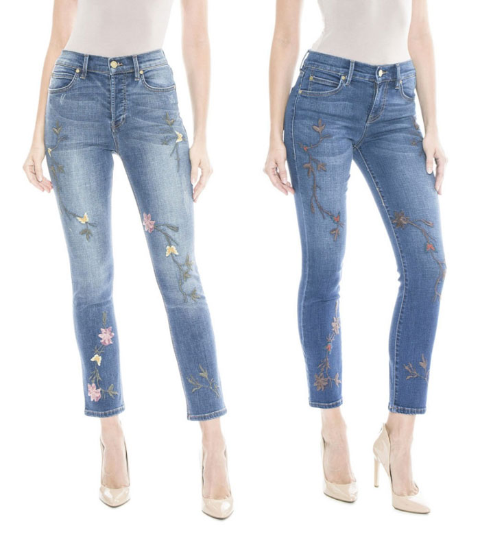 Patched and Embroidered Denim for Fall - Level 99