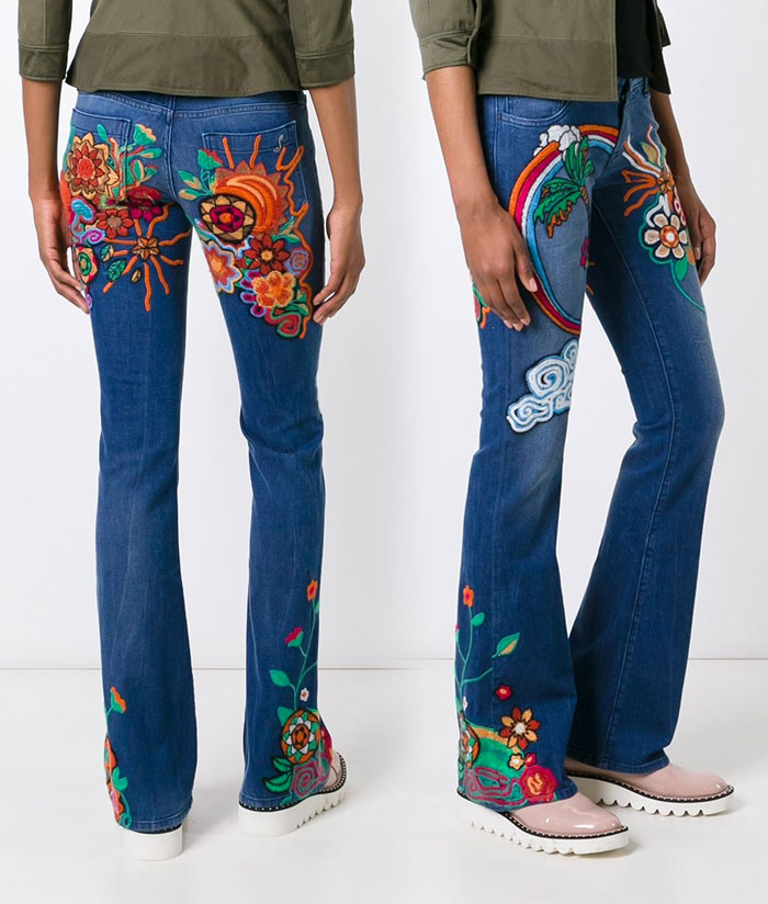 Patched and Embroidered Denim for Fall - Seafarer