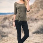 The Fall 2016 Collection from Nomad's Hemp Wear - Daiquiri Tee and Dazzle Leggings