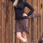The Fall 2016 Collection from Nomad's Hemp Wear - Denali Sweater and Eminence Skirt