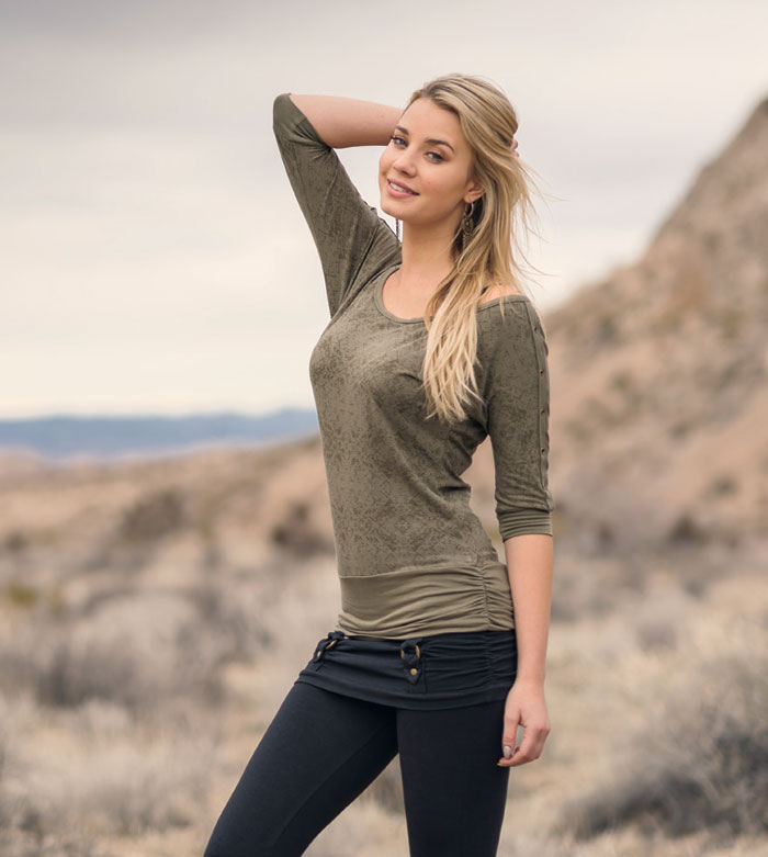The Fall 2016 Collection from Nomad's Hemp Wear - Tee