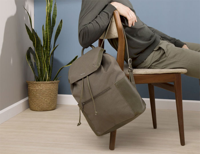 Vegan Handbags and Footwear from Matt & Nat - Greco Backpack