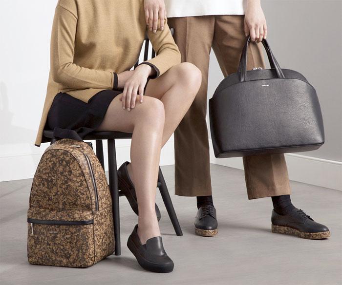 Vegan Handbags and Footwear from Matt & Nat - Reya and Ville Bags, Berri and Hall Shoes