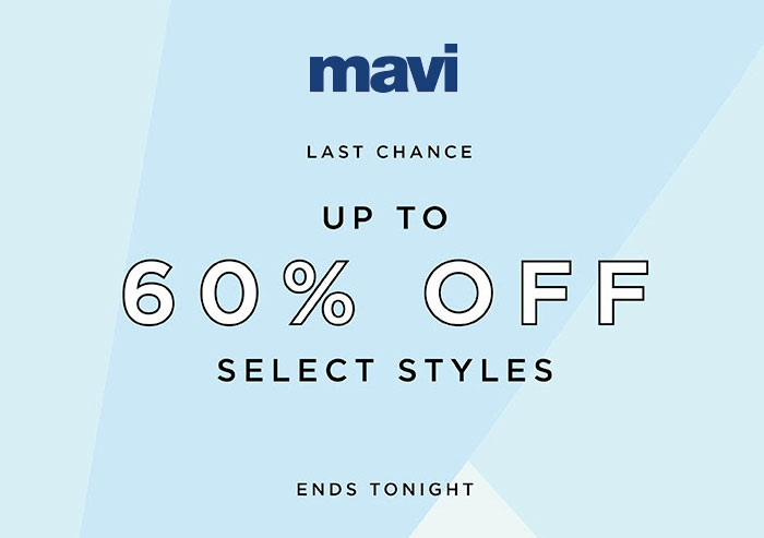 Mavi Jeans Last Chance Sale Ends Tonight
