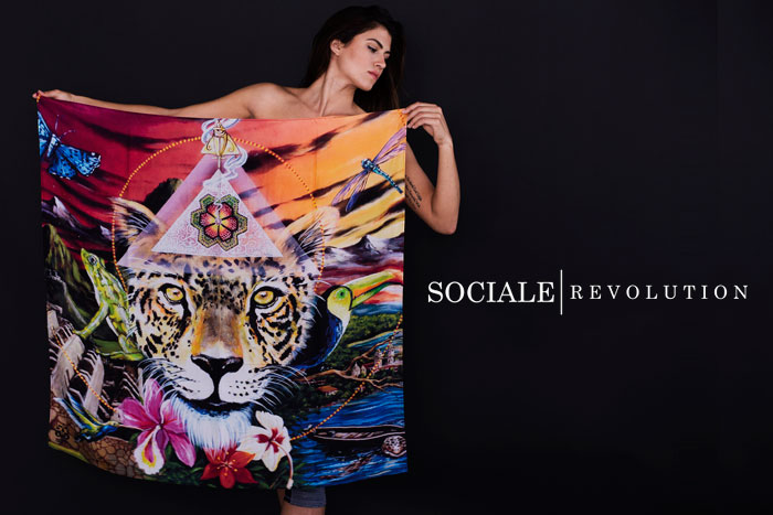 New Artist Scarves by Sociale Revolution