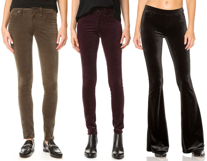 Velvet is the Fabric for Fall - Pants 2