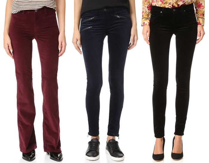 Velvet is the Fabric for Fall - Pants 3