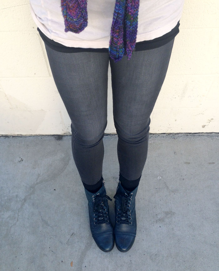 Faded Black Denim for Fall