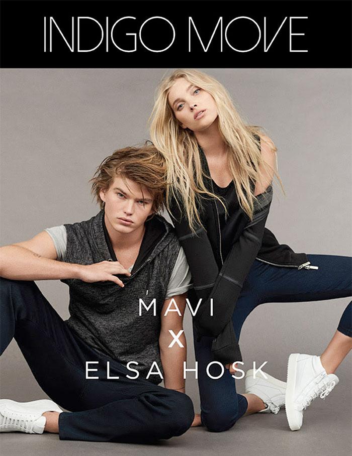 Elsa Hosk x Mavi for Indigo Move