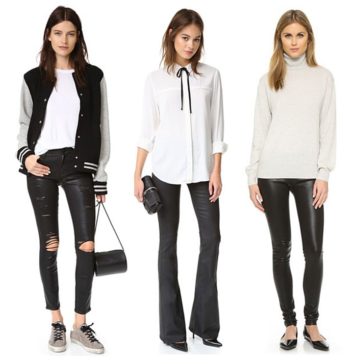 Coated Denim for Fall and Winter