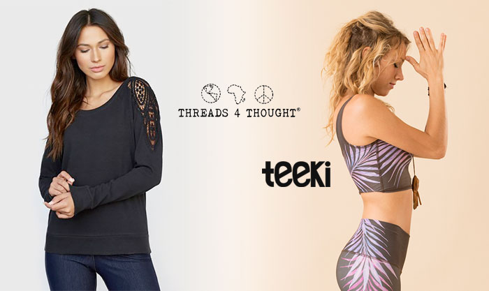Threads 4 Thought and Teeki for Sustainability