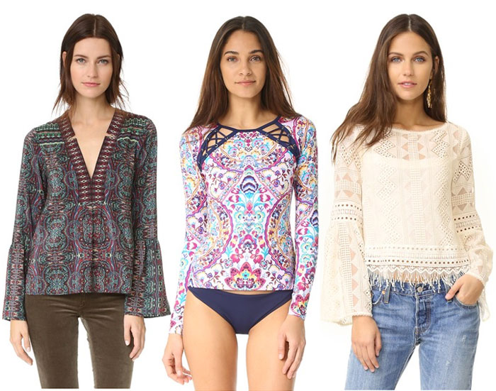 Empowering Women and Local Artisans with Nanette Lepore - Tops and Rash Guard