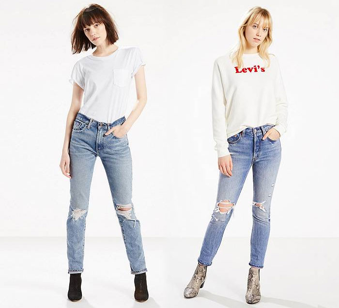 Modern Vintage Inspired Denim for Style and Comfort - Top Levis