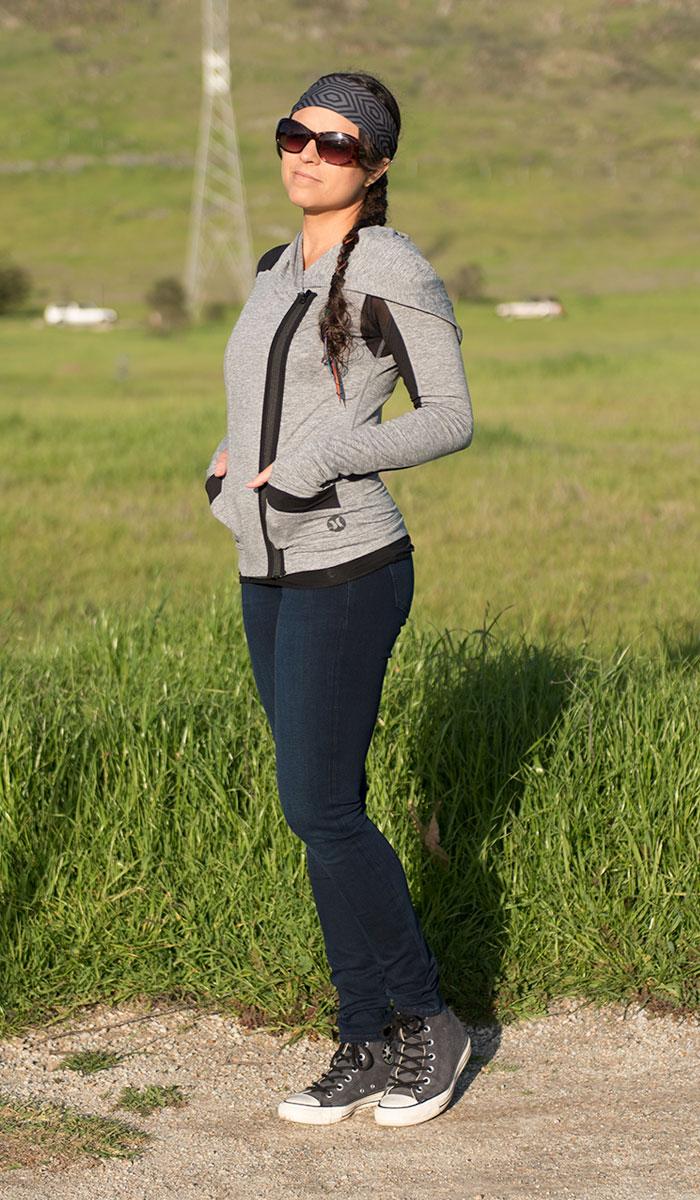 Mavi Adriana Indigo Move Super Skinny in Deep Bi-Str Review - Side View