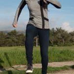 Mavi Adriana Indigo Move Super Skinny in Deep Bi-Str Review - Jumping on Platform