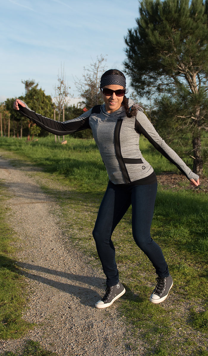 Mavi Adriana Indigo Move Super Skinny in Deep Bi-Str Review - Dancing