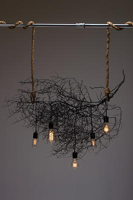 Same Tree - Native Horizontal Chandelier