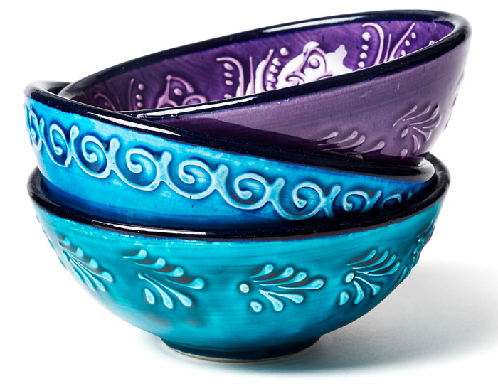 Hand Painted Ceramic Bowls at One Kings Lane