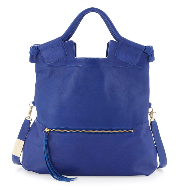 Foley & Corinna Mid City Tote in Cobalt
