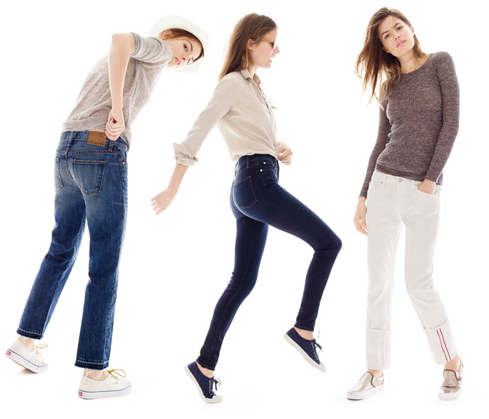 J Crew Point Sur Denim