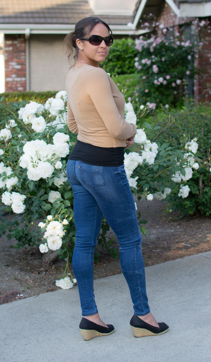 Levi's Legging Jean in Bloom