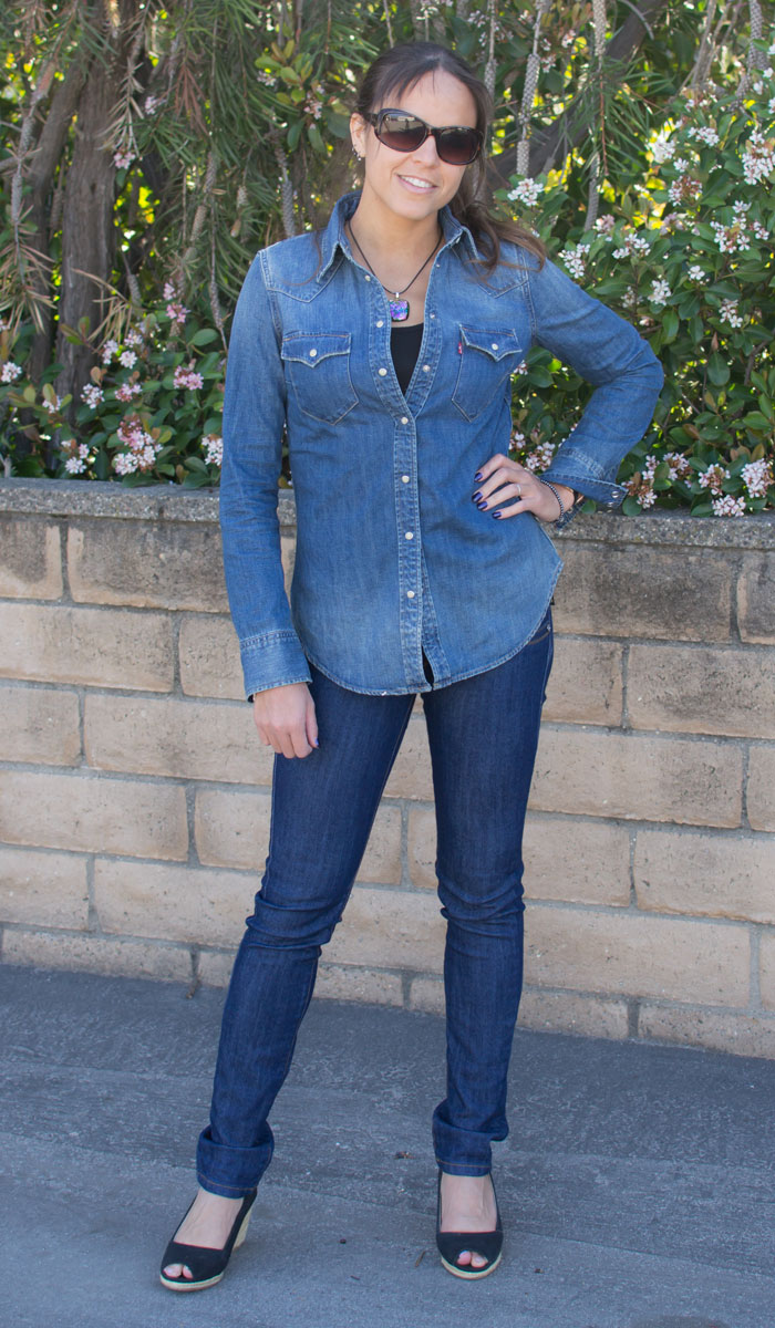 Levi's® Tailored Western Shirt in Dark Heritage Review on Denimology