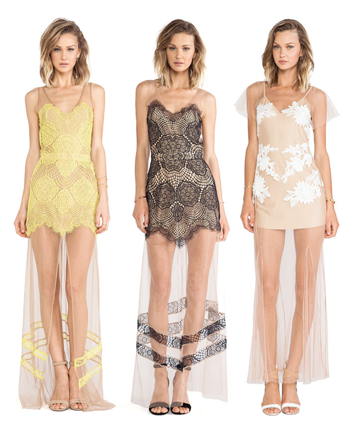 The Sheer Maxi Dress by For Love & Lemons