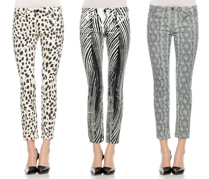 New Bold Printed Jeans from Joe's