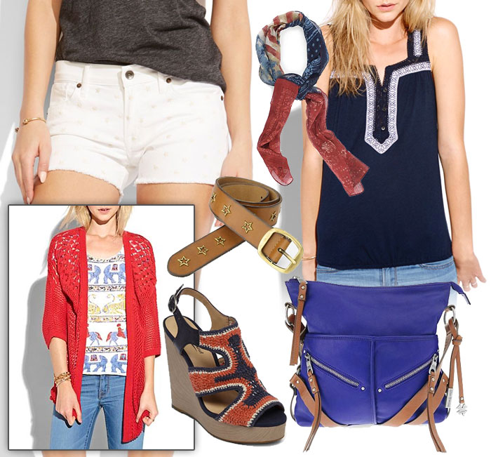 Celebrate the 4th with Lucky Brand