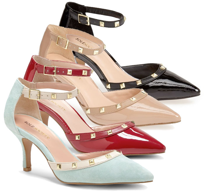 The Rockstud Pump by Valentino