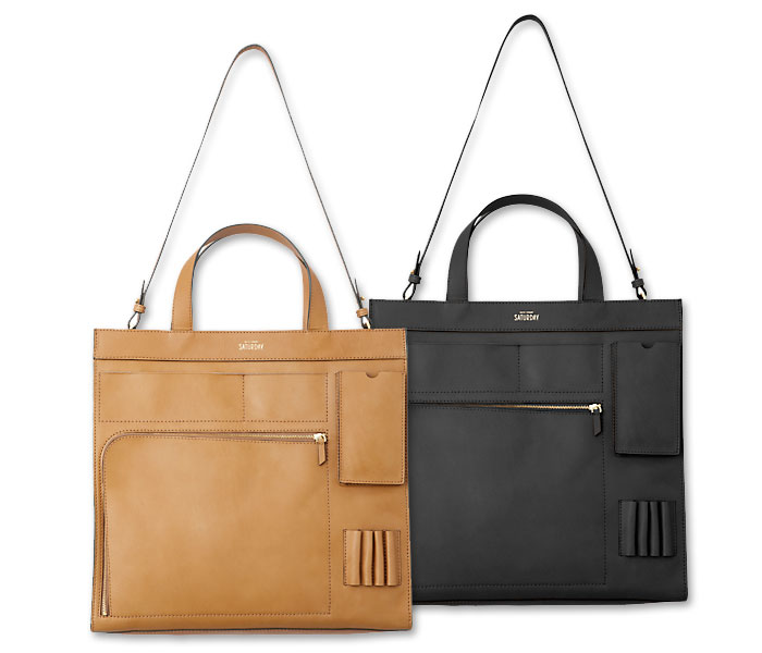 Basic and Functional Leather Bags - Kate Spade Inside Out Pocket Tote