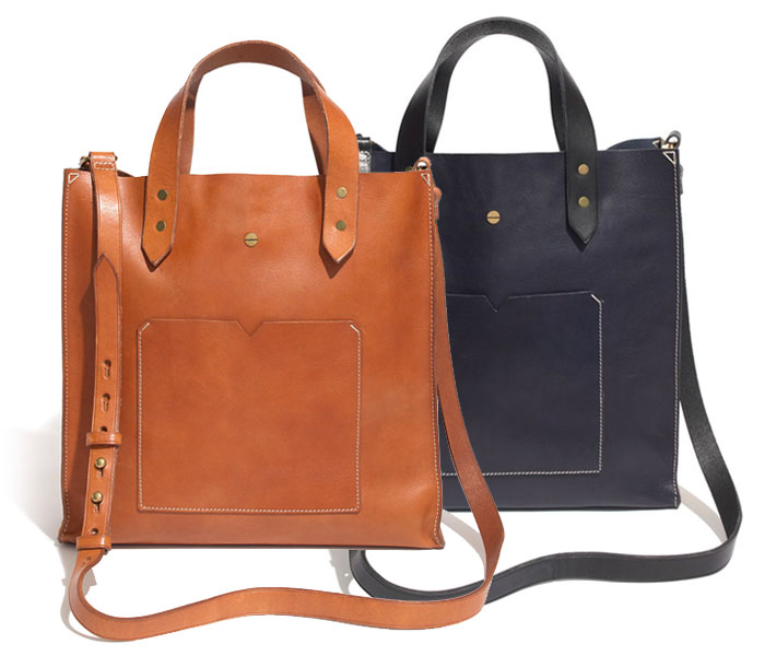 Basic and Functional Leather Bags - Madewell Berkeley Bag