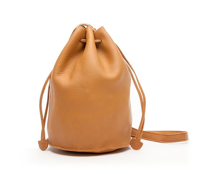 Basic and Functional Leather Bags - BAGGU® Drawstring Purse
