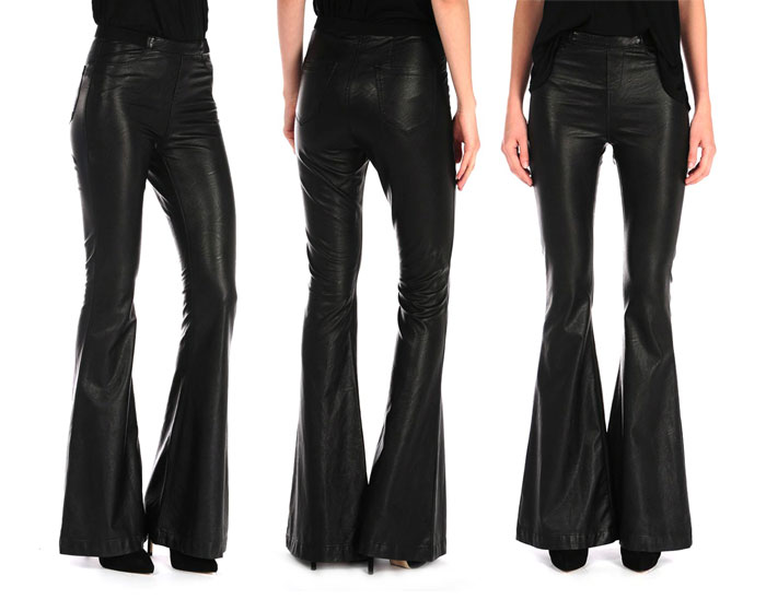 The Vegan Leather Flare from Blank NYC