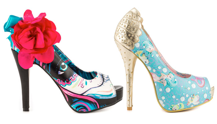 Iron Fist Statement Footwear - Whimsical
