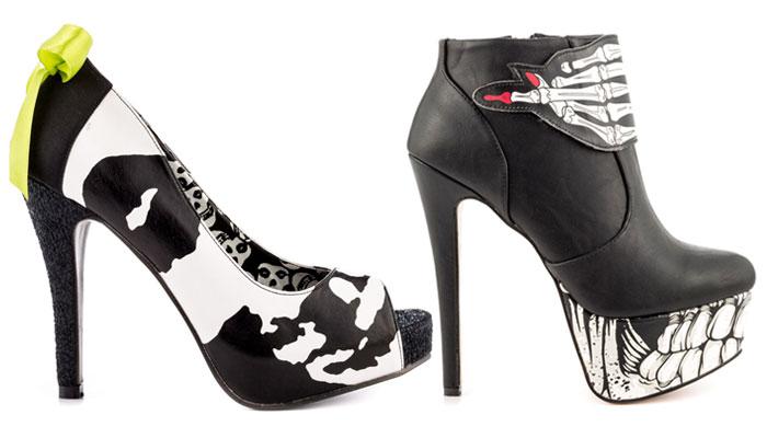 Iron Fist Statement Footwear - Ghoulish 2