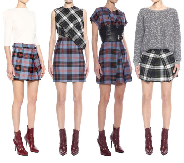 Leopard and Tartan by McQ Alexander McQueen