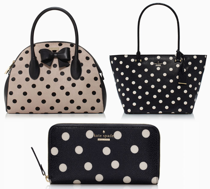 Kate spade rocks polka dots decadent dissonance kate spade rocks polka dots bags junglespirit Gallery