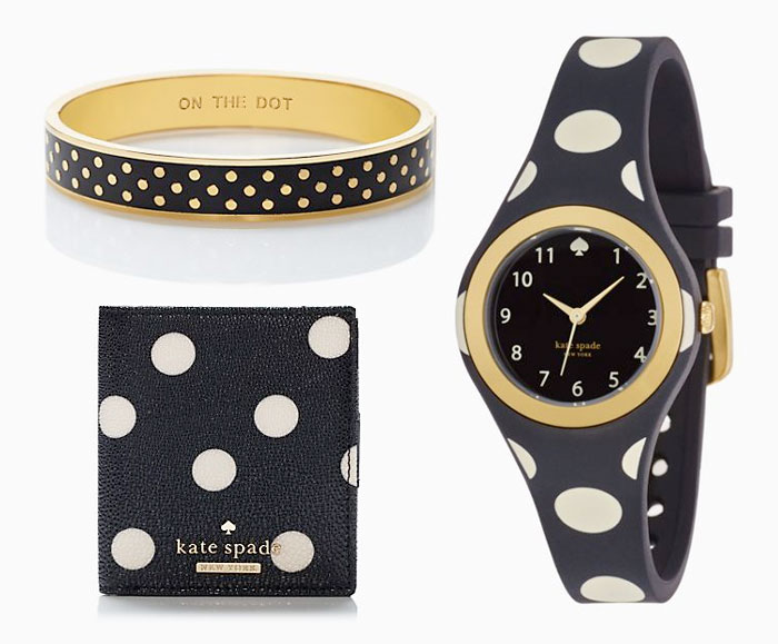 Kate Spade Rocks Polka Dots - Accessories